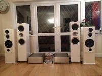 Kef R900 Loudspeakers New Gloss White