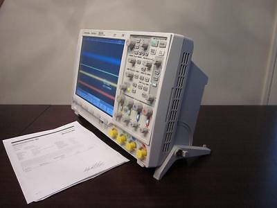 Agilent Hp Mso7104b 1 Ghz 4 Channel Digital Analog Mixed Signal Oscilloscope