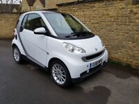Smart fortwo 0.8 CDI Passion 2dr, Air Con, Pan Roof, Sat Nav, Full Automatic, long MOT