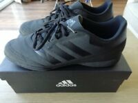 Adidas goletto astro turf FOOTBALL BOOTS size 10