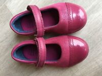 Clarks first shoes size 4 F