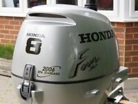 Honda BF 8HP 4-Stroke Outboard Engine - Excellent Condition