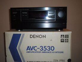 RARE - Vintage Denon AVC-3530 Amplifier - 350 WATT