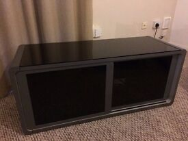 TV Cabinet Lovely modern grey/glass