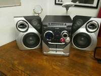 Philips 3cd mp3 mini hi-fi system