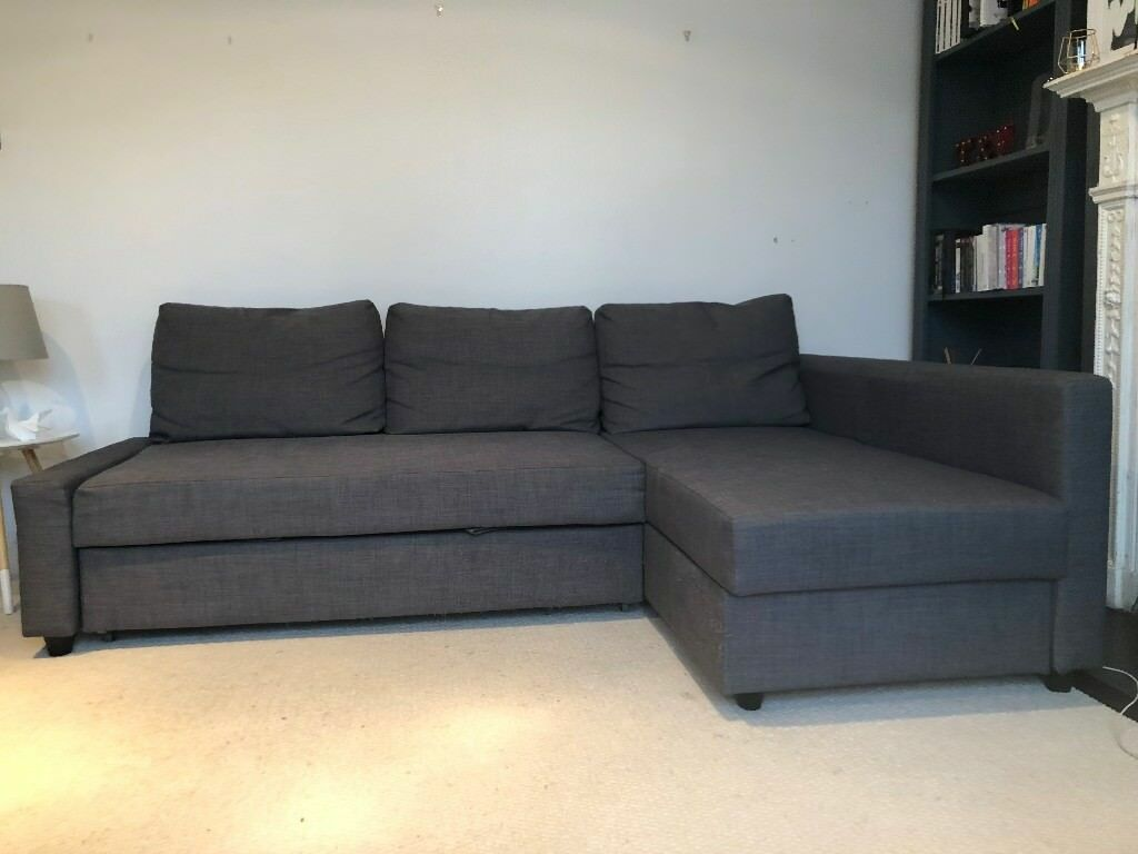 Friheten Grey Corner Sofa Bed