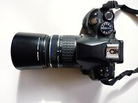 Olympus Evolt 620 DSLR with lenses and extras