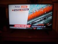 32inch LG tv, freeview, perfect condition, nearly new, with remote and stand.