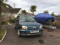 Nissan Micra 1.0lB Automatic