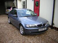 BMW 3 SERIES 318I SE 2002 - Exceptional Value For Money c/w New MOT & Warranty