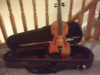 Stentor 1/2 size Violin & Case as New