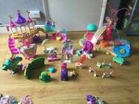 Huge my little pony bundle, playsets, 80 + ponies, accessories and designabear pony