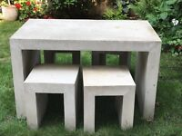 Habitat outdoor garden table and 4 chairs