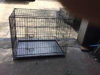 Dog cage large