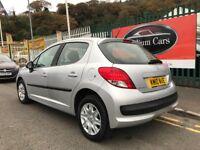 2010 (10 reg) Peugeot 207 1.4 S 5dr (a/c) Hatchback Petrol 5 Speed Manual Low Miles