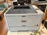 OKI Model B431dn Mono A4 LED Duplex Printer for sale in new condition.