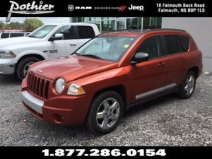2010 Jeep Compass Limited   LEATHER   SUNROOF   BLUETOOTH  