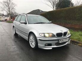 2002 52 BMW 330D M SPORT MANUAL ESTATE