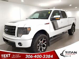 2014 Ford F-150 FX4|Auto|Cam|Leather|Nav|Heated Seats