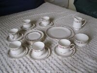 BONE CHINA TEA SERVICE - PARAGON - BELINDA