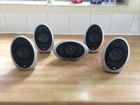Kef surround sistem(5 speakers)