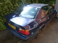Breaking BMW E36