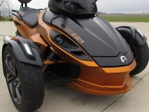 2013 can-am Spyder RS-S SM5   8,500 KMS  Only $39 weekly!  Power London Ontario image 3
