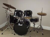 Drum Kit Pearl Forum Export FS725C + extras