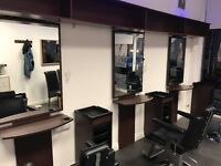 Mirrors, Trolleys, Styling units