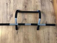 Pull up bar, Chin up Bar, Like New, Gym Equipment