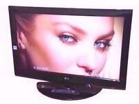 """LG 37"""" LCD TV BUILT IN FREEVIEW, MONITOR."""