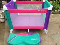Travel cot in excellent condition