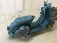 Vespa look a like un finished project.