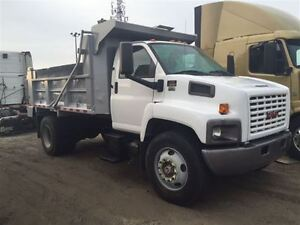 2007 GMC C8500 Single Axle Dump Truck 12FT Steel Dump Box