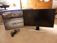 "Samsung UE590D 28"" 4K Ultra HD FreeSync Gaming Monitor"