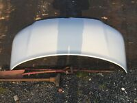 Vw t5 transporter van bonnet 2003-2009 in silver