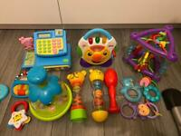 Some baby toys