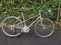 Raleigh Silhoutte 80's Steel Road Bike