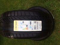 """2 new Dunlop sp sport 01 225x50x16"""""""