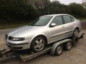 Seat Toledo V5 170bhp 2002 breaking Leon with an ass!