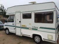 renault traffic elddis camper, 4 berth, only 76k, power steering, new upholstery immaculate for year