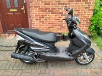 2007 Yamaha Cygnus 125 scooter, new 1 year MOT, low miles, good runner, rider away, bargain ,,,