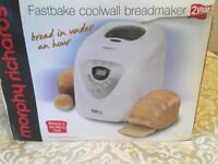 NEW MORPHY RiCHARDS bread maker