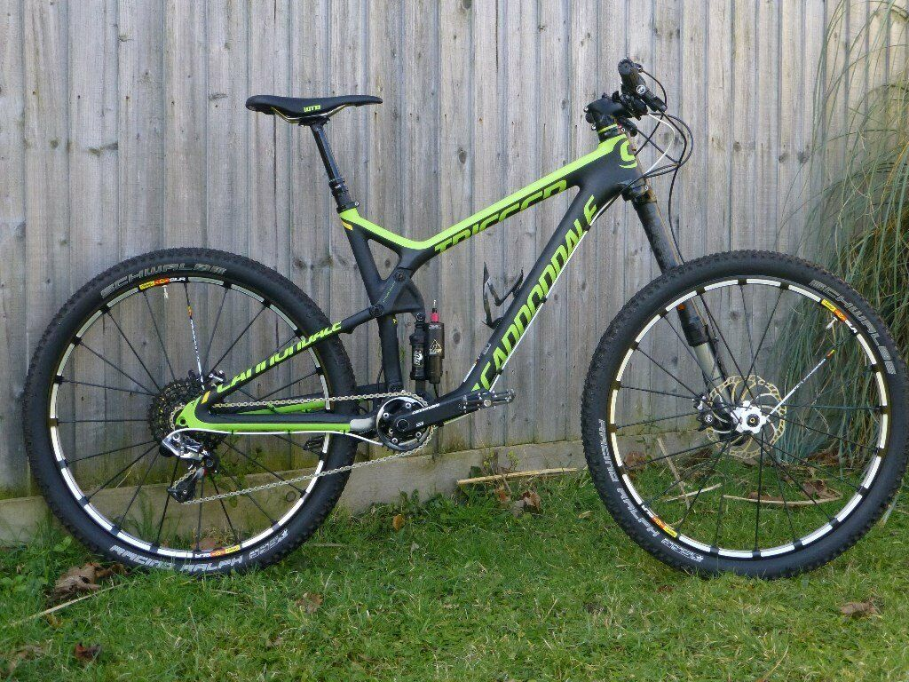 As New Cannondale Trigger 1 Team Edition Carbon Full Suspension
