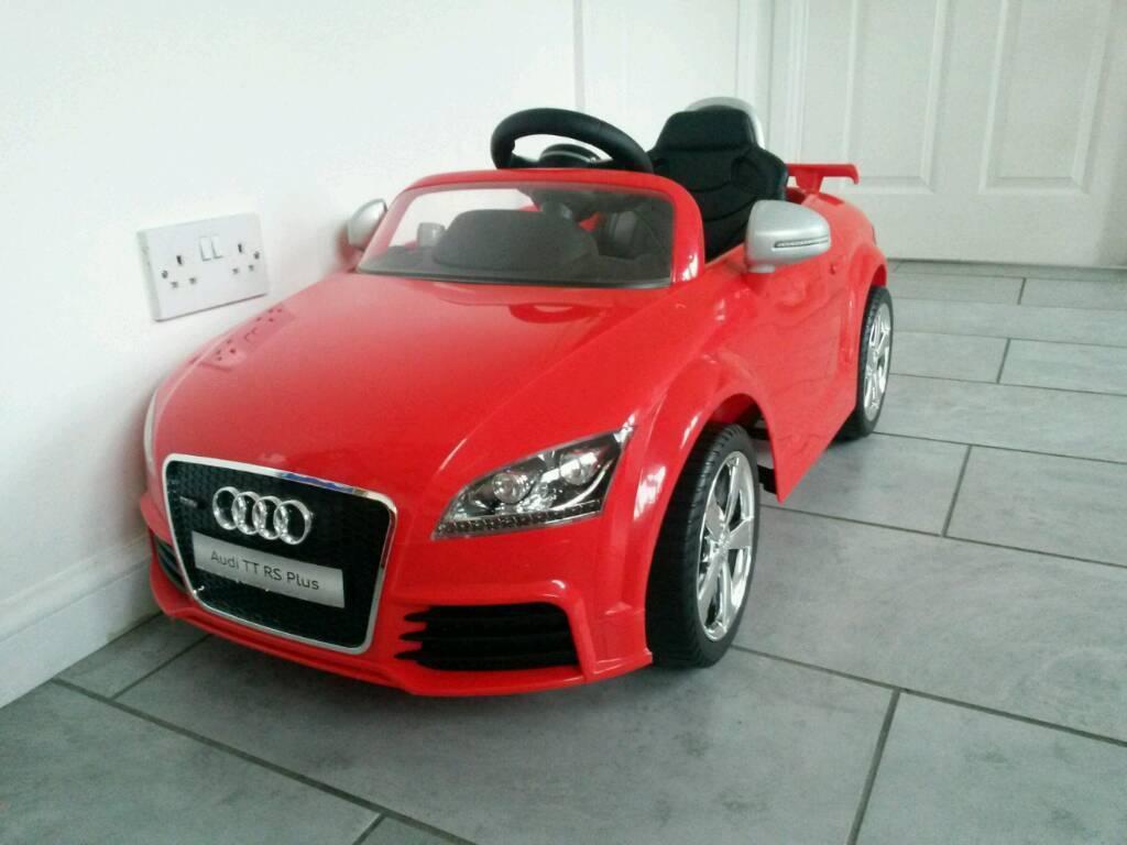 Kids Audi Tt Electric Car In Bishopbriggs Glasgow Gumtree