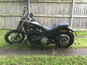Harley Davidson Street Bob 2018 5k of extras As New Condition!!