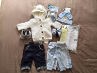 Baby Boy 0-3 months Bundle - All brand new with tags!