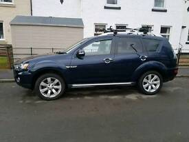 mitsubishi outlander juro 12month MOT full service history low miles