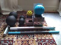 Self Massage / Myofascial Release equipment, all in as new condition!