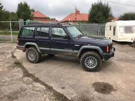 Jeep Cherokee xk 2.5 TD / green lane / off road /moted